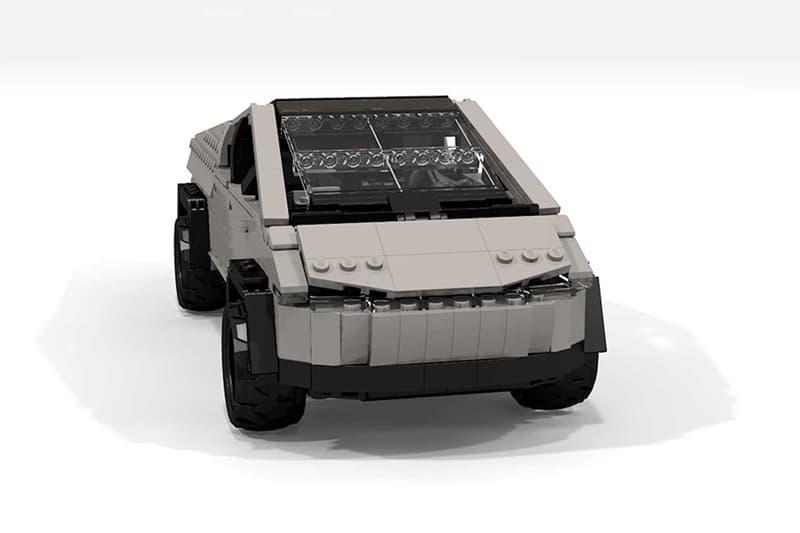 網民打造 LEGO 版本 Tesla全新車型Cybertruck
