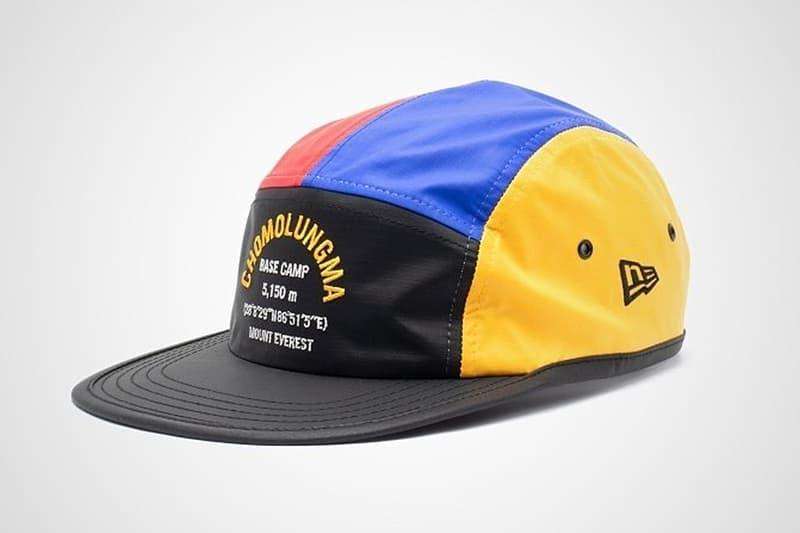 The North Face x New Era 攜手打造世上最高峰「Everest」主題別注帽款
