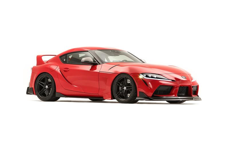 Toyota 於 SEMA 2019 車展發佈五輛高性能 GR Supra 改裝概念車