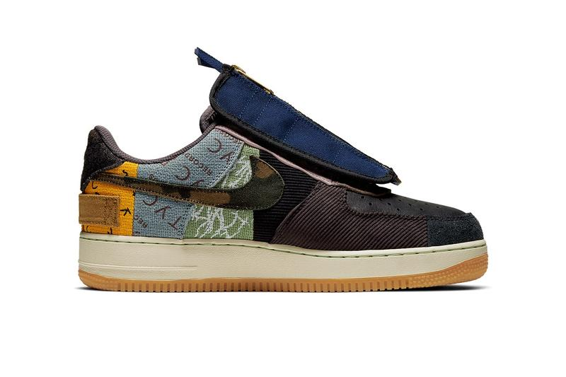 Travis Scott 再度與 Nike 合作推出全新 Air Force 1「Cactus Jack」聯名鞋款