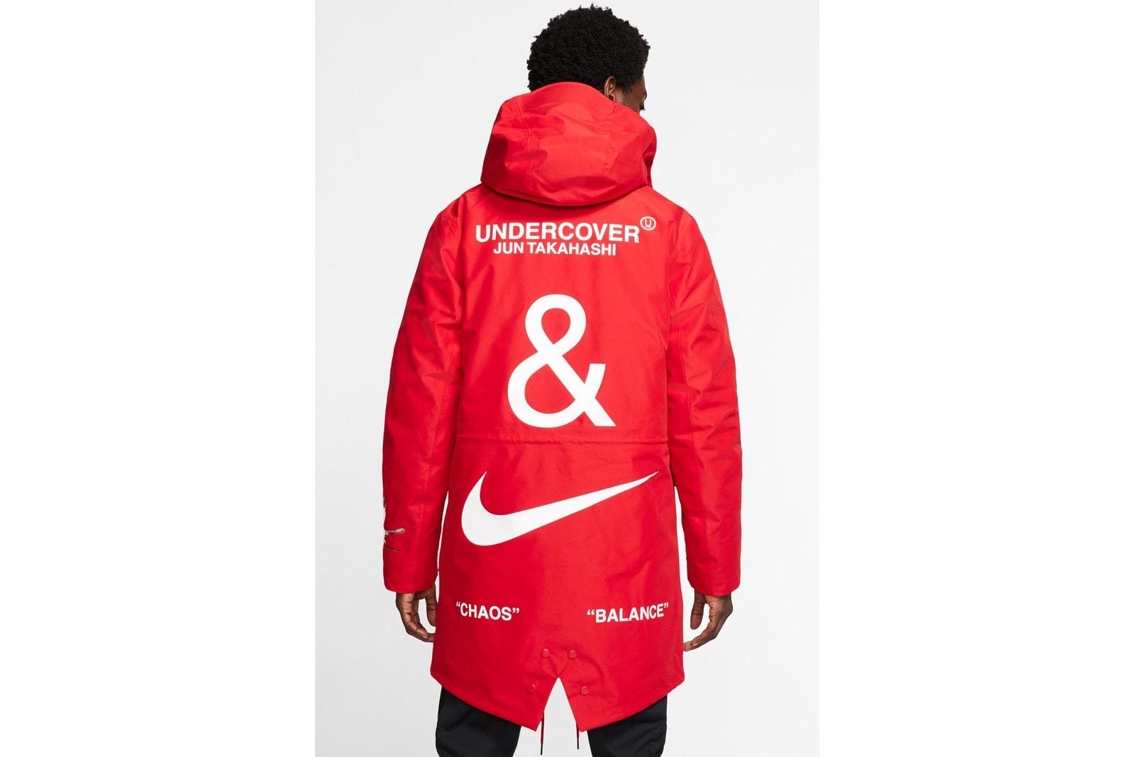UNDERCOVER x Nike 正式發佈 2019 秋冬季度聯乘系列