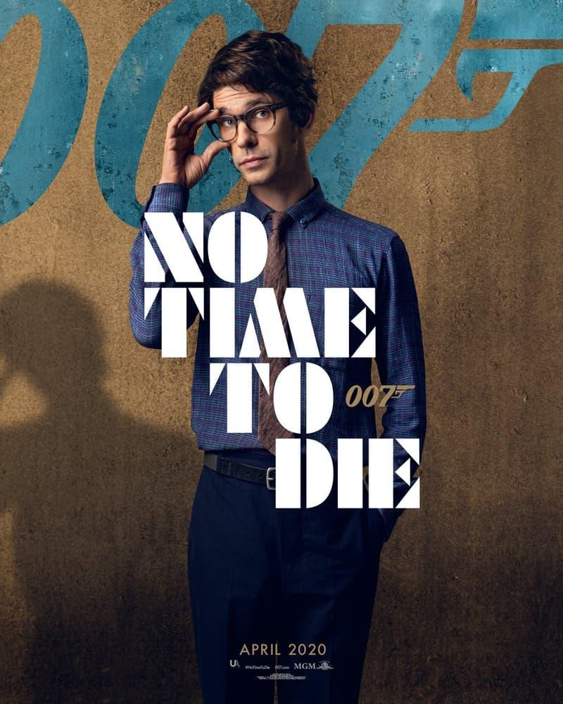 預告即將登場!《007: No Time To Die》最新電影角色海報放送