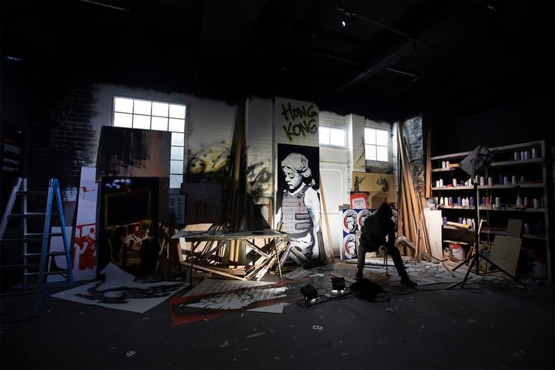 當代首席街頭藝術家-「Banksy: Genius or Vandal」展覽登陸香港