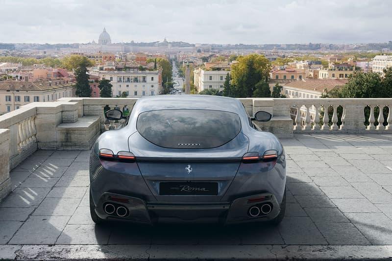 復古簡約-Ferrari 公佈全新超跑 Roma 的詳細動力數據