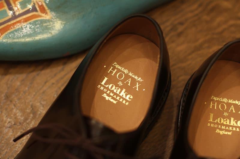 HOAX 攜手 Loake 推出年尾壓軸別注皮鞋型號