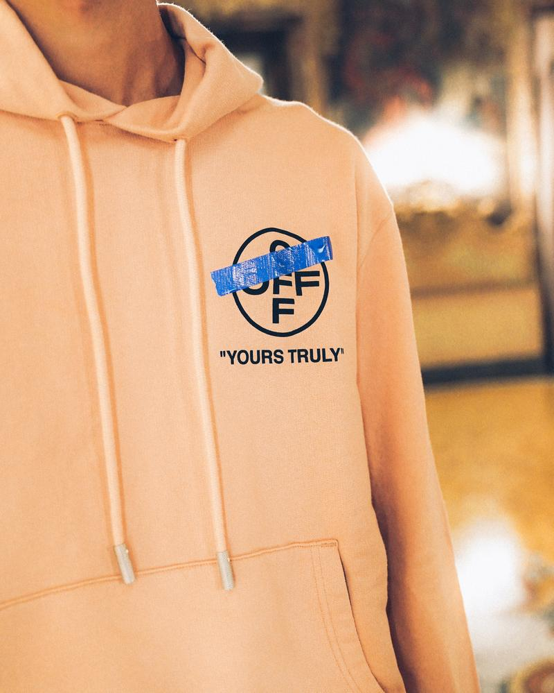 "Off-White™ ""YOURS TRULY"" 獨家別注系列台灣發售情報公開"