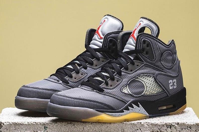 年度大作?Off-White™ x Air Jordan 5 細節圖輯曝光