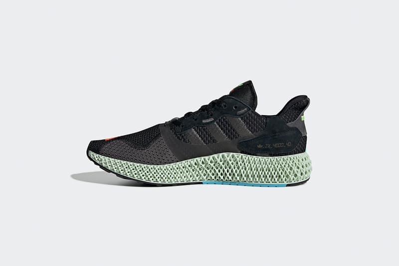 adidas Originals 混血跑鞋 ZX 4000 4D 全新配色香港區上架情報