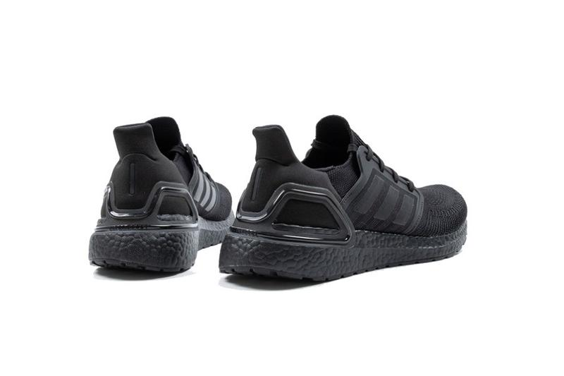 adidas 全新跑鞋 UltraBOOST 20「Core Black」配色發佈