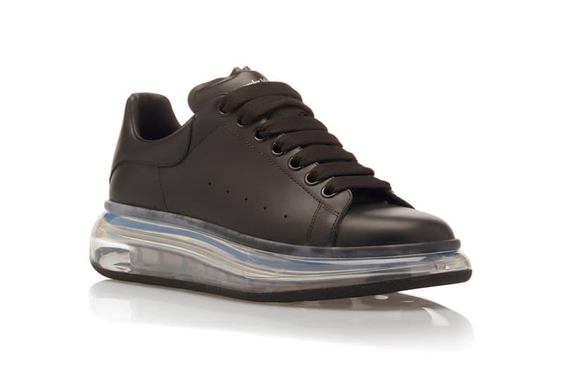 Alexander McQueen 全新皮革低筒 Oversized Sneakers 鞋款上架