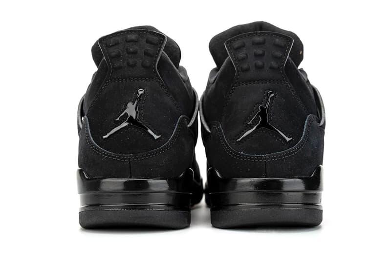極致黑魂復刻 − Air Jordan 4「Black Cat」2020 實鞋近賞