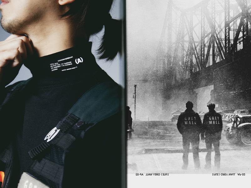 (A)NOWHEREMAN x HILLTOP 最新聯乘「Grey Wall」Lookbook 正式發佈