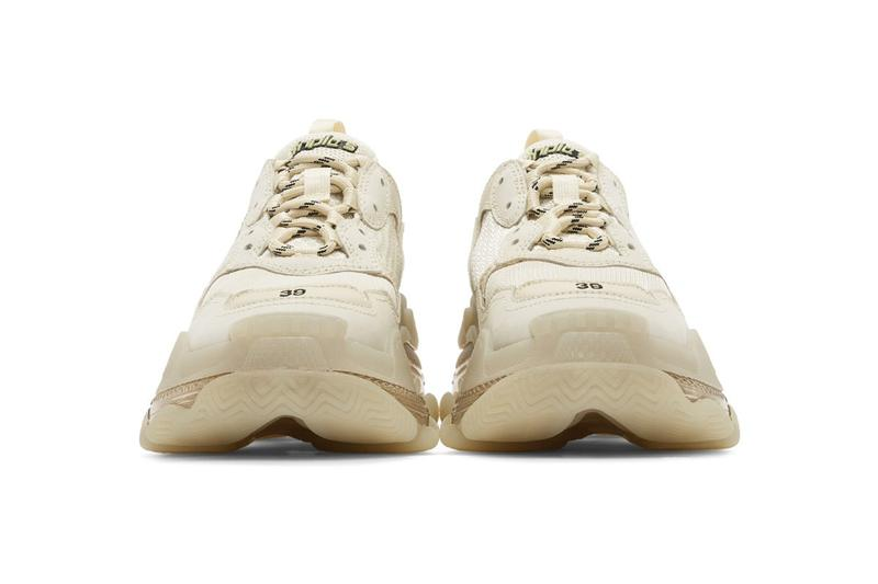Balenciaga 人氣鞋型 Triple S 最新配色「Off-White」發佈