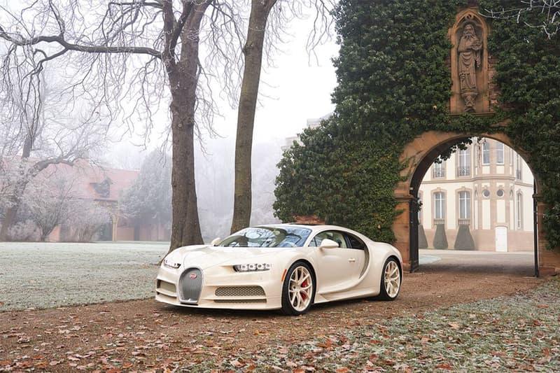 真正奢華 − Bugatti x Hermès 全球唯一聯乘 Chiron 別注車型
