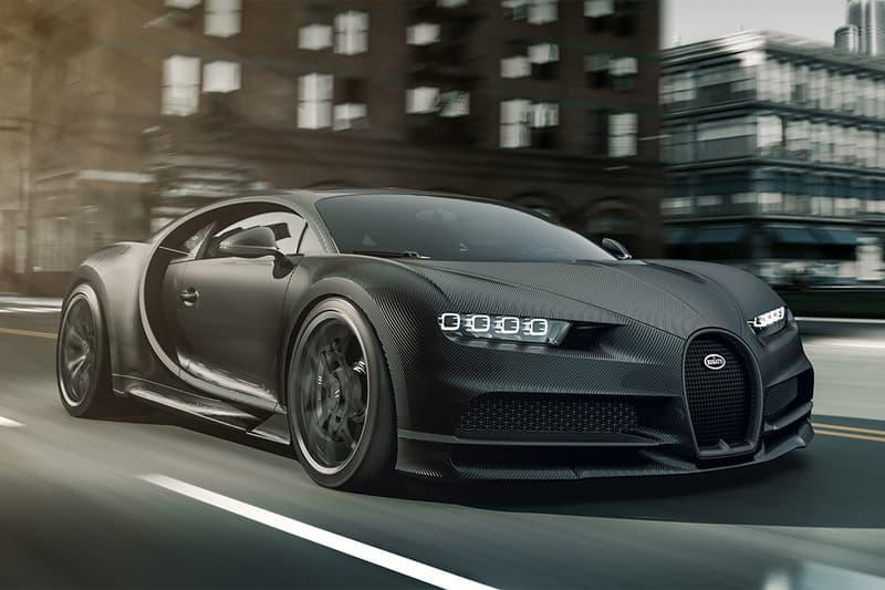極黑之魂 − Bugatti 發表 Chiron Noire 系列限量別注車型