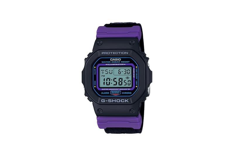 G-Shock 推出 90 年代復古配色 DW-5600 系列