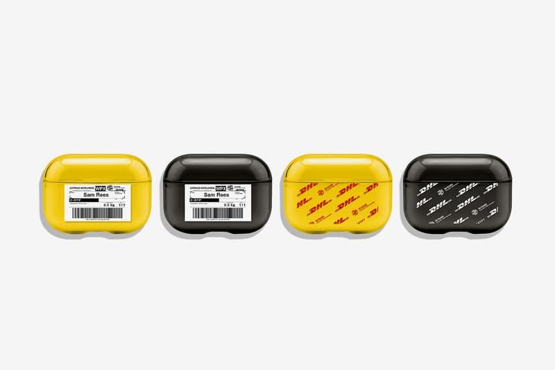 聯乘追加-DHL 50 周年 x CASETiFY 第二波系列發佈