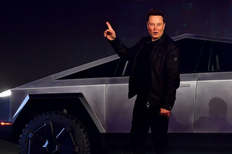 Elon Musk 親自於 LA 街道駕駛全新科幻車型 Tesla Cybertruck