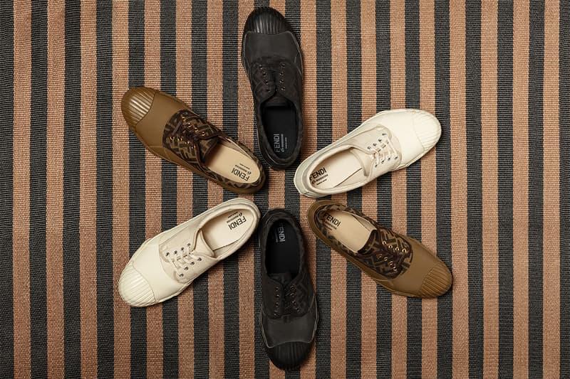 FENDI 攜手日本傳統製鞋工房 MoonStar 推出別注系列