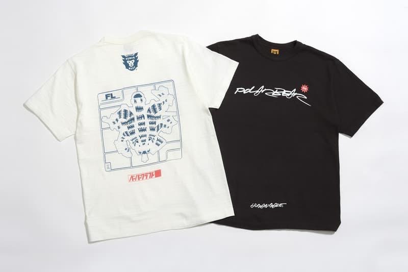 Futura Laboratories x HUMAN MADE 聯乘 T-Shirt 系列發佈