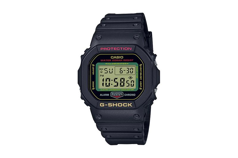G-Shock 推出「招財貓」配色 DW-5600 手錶