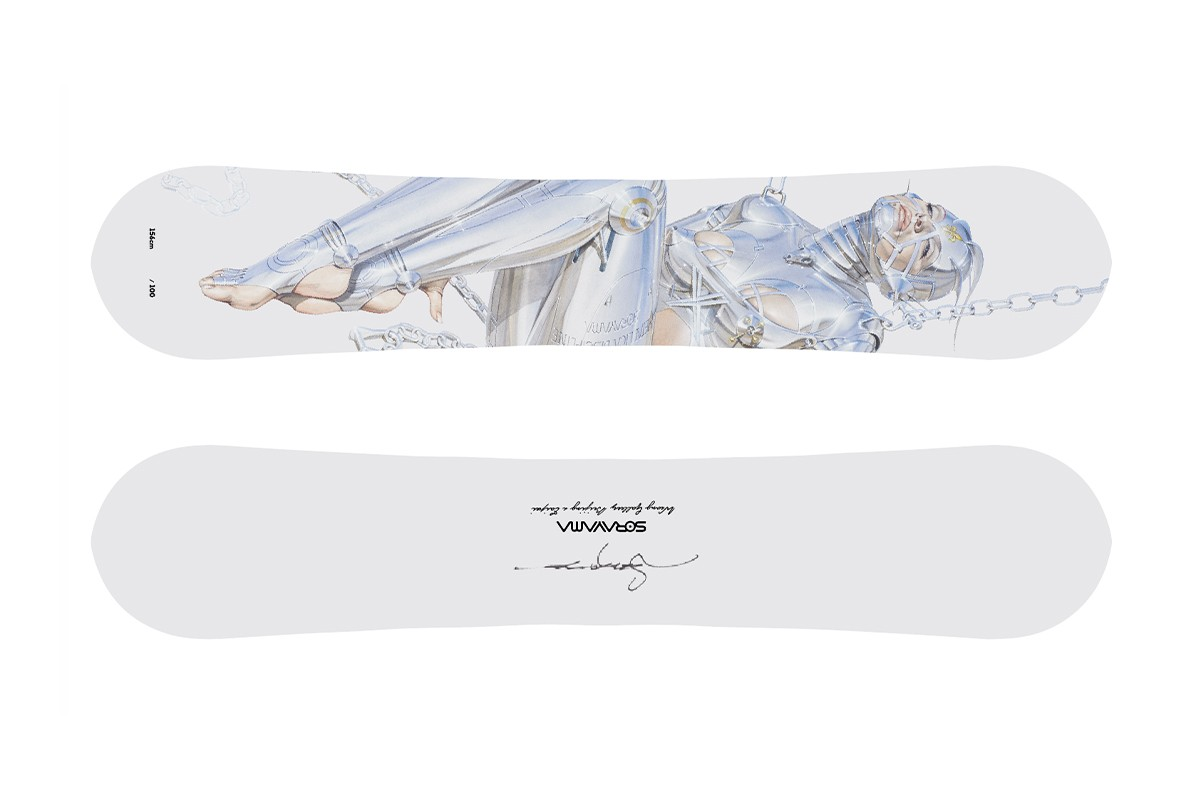 情慾機械再現 − 空山基台灣全新個展《空山基の械慾論 2》即將登場