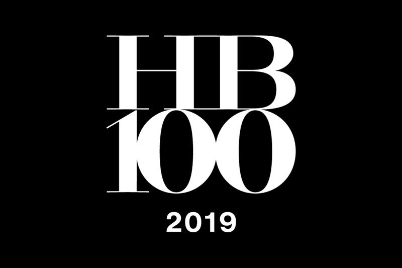 時尚潮流界大賞!2019 年度影響力榜單「HB 100」完整公開