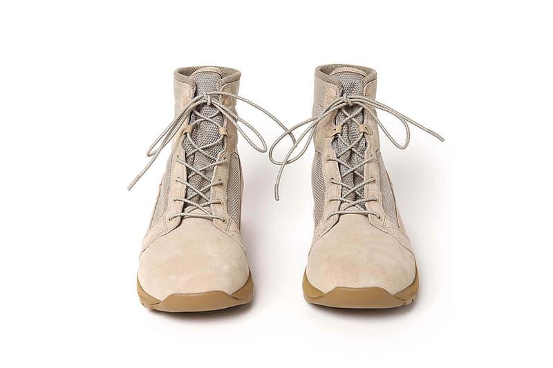 hobo 再度攜手 Danner 打造復古化 TACHYON 軍靴