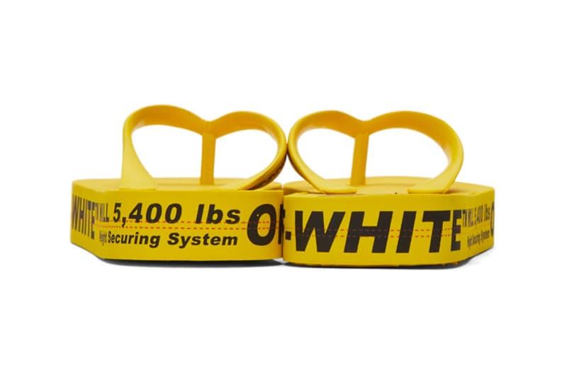Off-White™ 推出集合品牌所有簽名元素的拖鞋