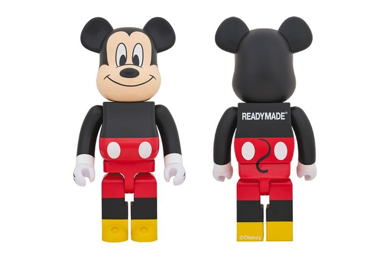 叢林米奇-READYMADE x Disney x Medicom Toy BE@RBRICK 玩偶模型