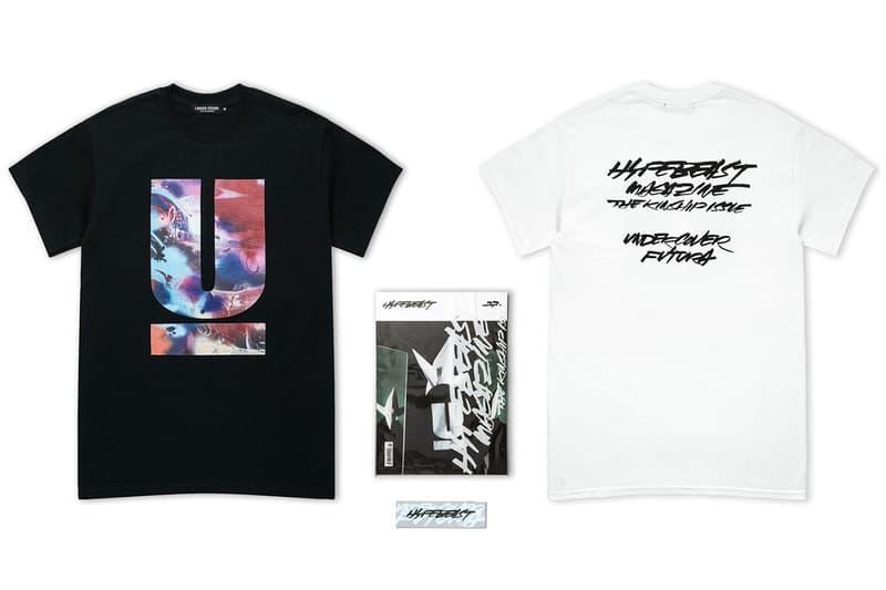 Futura x UNDERCOVER 最新聯名 The Kinship Issue T-Shirt 即將登陸 HBX