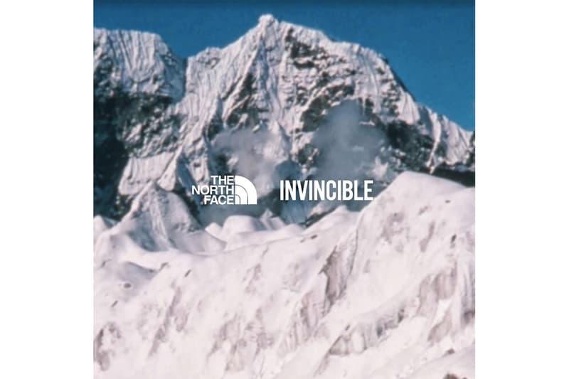 雙強聯手 − INVINCIBLE x The North Face 全新企劃預告發佈