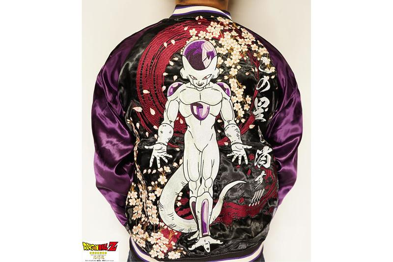 日本服裝品牌絡繰魂推出《Dragon Ball》系列橫須賀刺繡外套