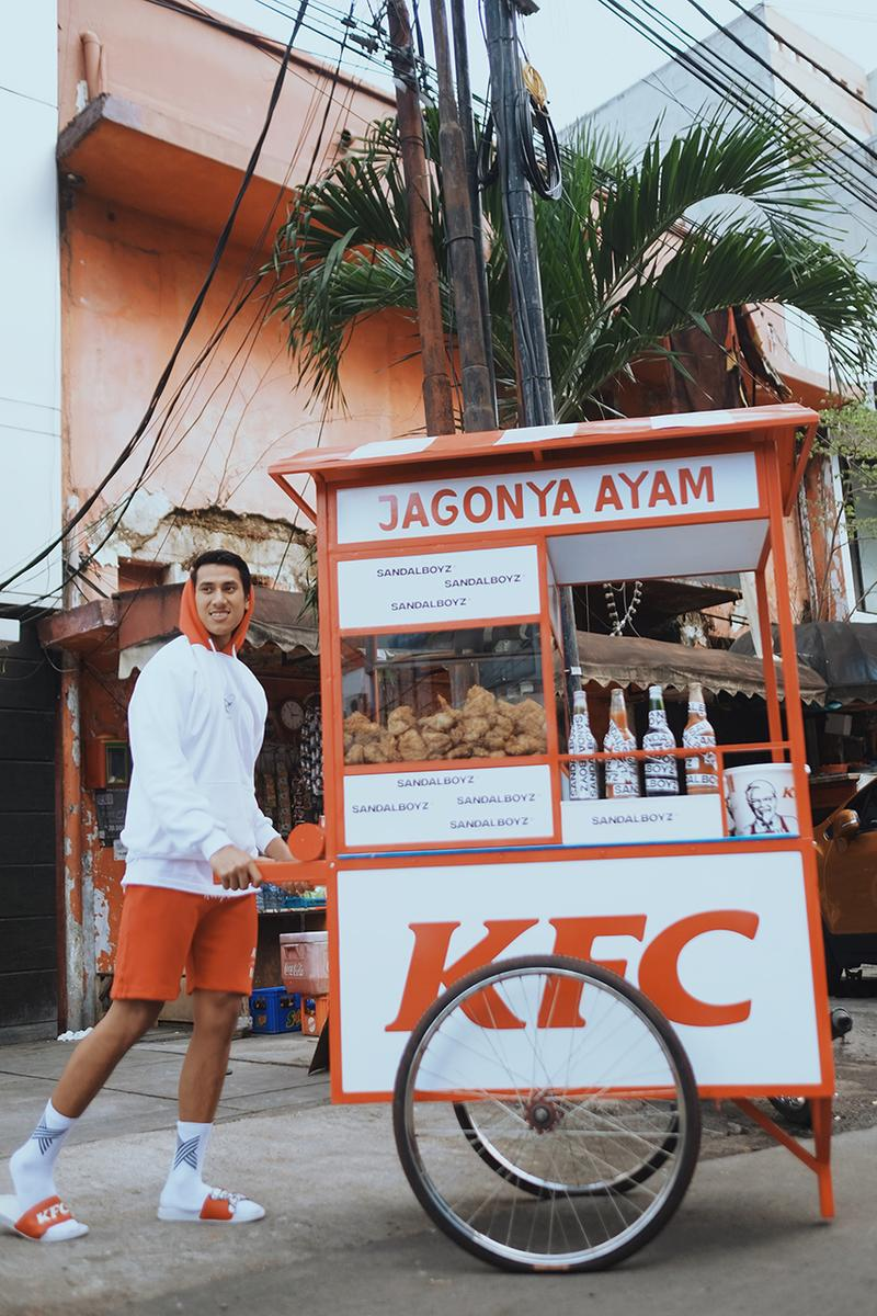 要趣就趣-KFC 攜手洛杉磯品牌 SANDALBOYZ 推出聯乘服飾