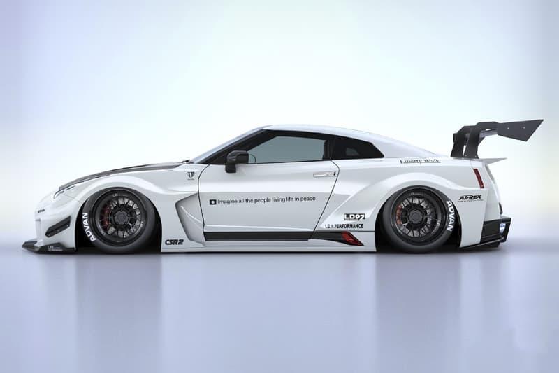 Liberty Walk 打造 Nissan GT-R 全新車身寬體套件