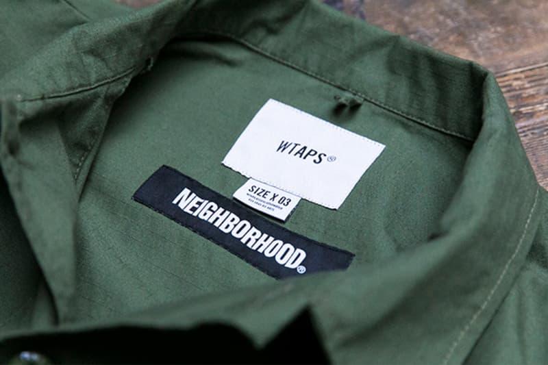 殿堂級合作 − NEIGHBORHOOD x WTAPS 最新聯乘系列預告發佈
