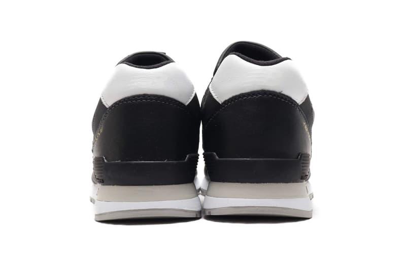 New Balance 996 全新皮革面料黑白配色發佈