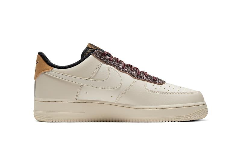 Nike 全新 Air Force 1「Fossil」配色鞋款正式發佈