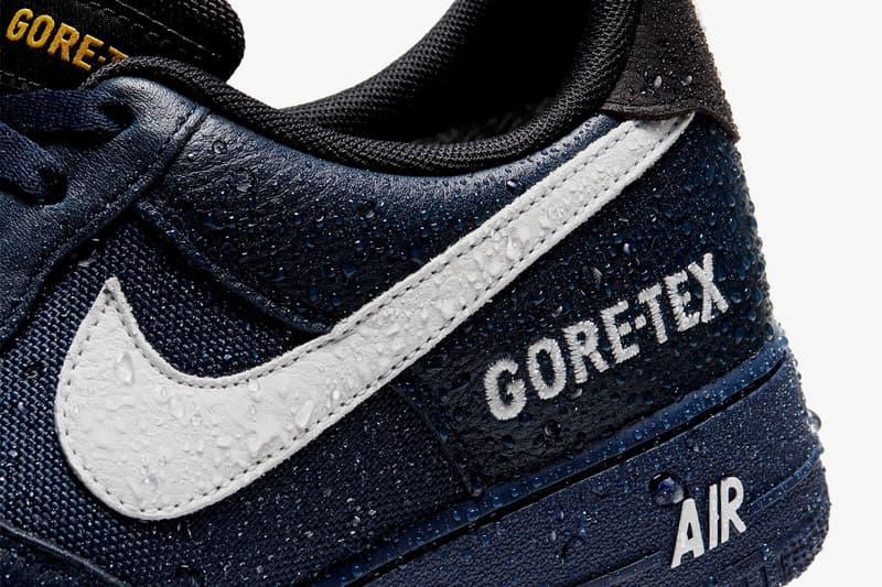 Nike Air Force 1 GORE-TEX 全新配色「Desert Orange」、「Obsidian」發佈