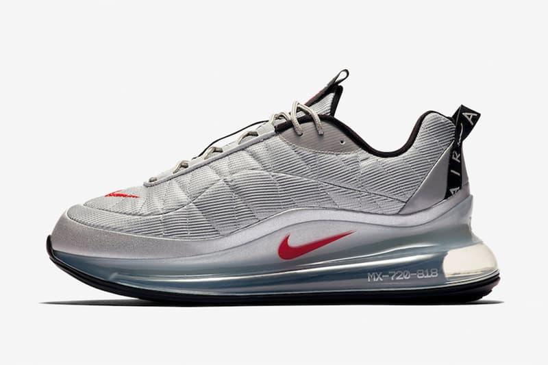 混種銀子彈 − Nike Air MX 720-818 最新配色「Silver Bullet」發佈