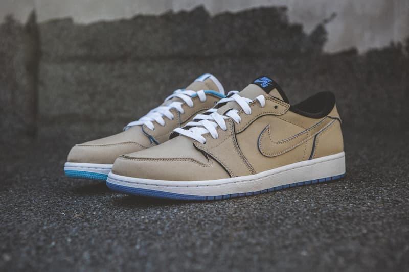 近賞 Nike SB x Air Jordan 1 Low 全新聯名配色「Desert Ore」