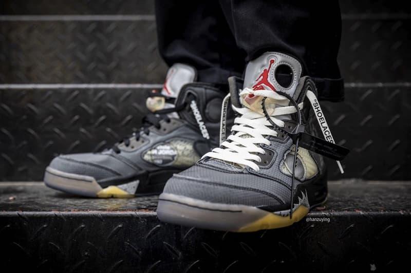 明年大物!?Off-White™ x Air Jordan 5 全新聯名圖輯釋出