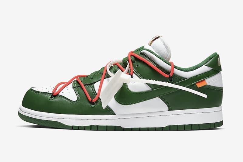 年末壓軸-Off-White™ x Nike Dunk Low 聯乘鞋款港台抽籤情報公開