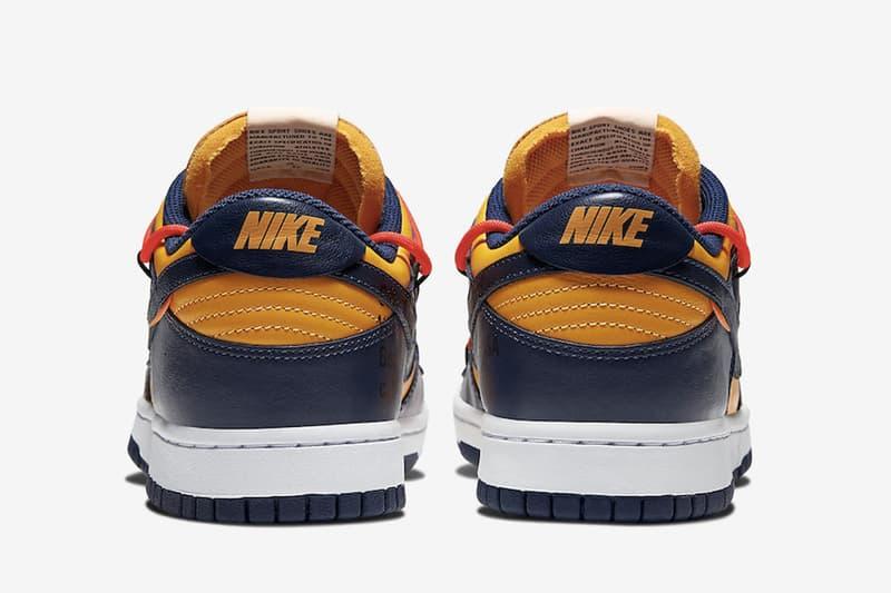 Off-White™ x Nike Dunk Low 最新聯名鞋款官方圖輯正式公開