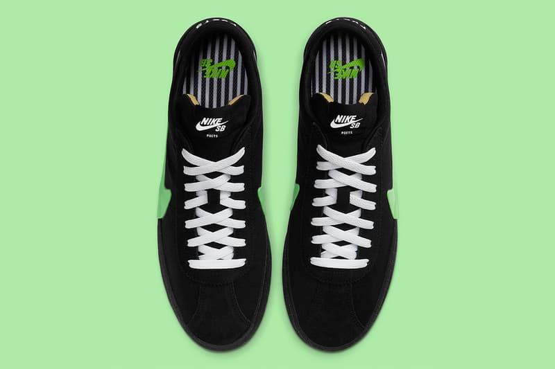 Poets x Nike SB 打造巨大化 Swoosh 別注 Bruin Low 鞋款