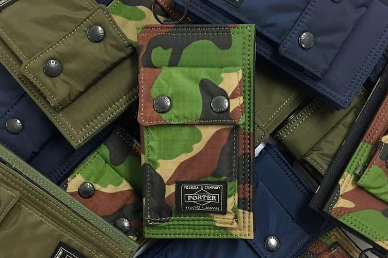 PORTER 軍事風 iPhone 手機套推出全新迷彩配色