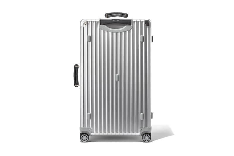 RIMOWA 推出鋁製銀色版本經典旅行箱