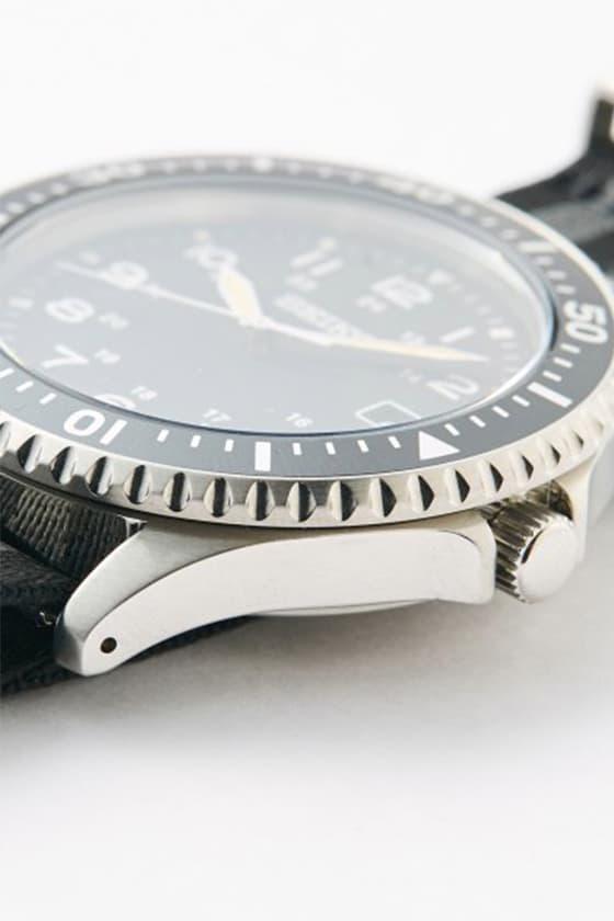 SEIKO x nano・universe 攜手打造別注復古潛水軍錶