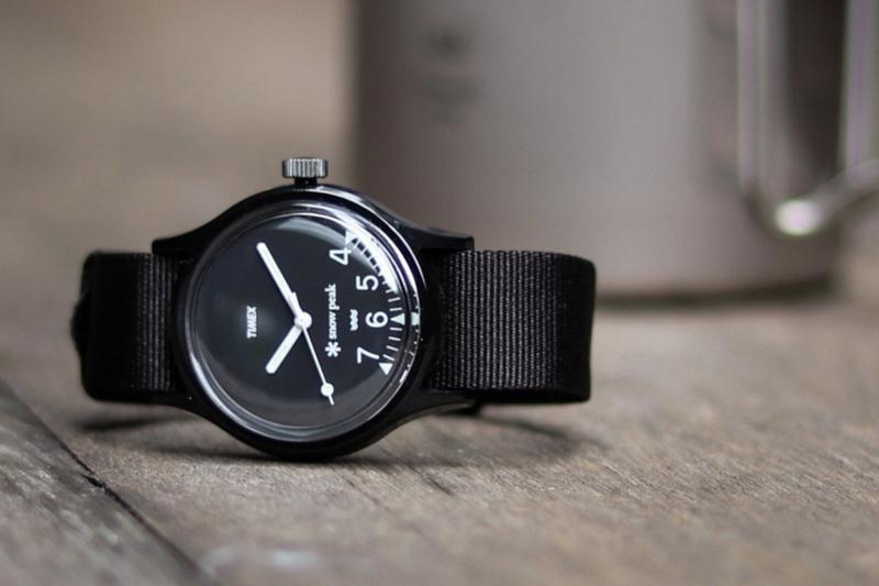 Snow Peak x JOURNAL STANDARD relume x TIMEX 攜手推出三方聯名手錶