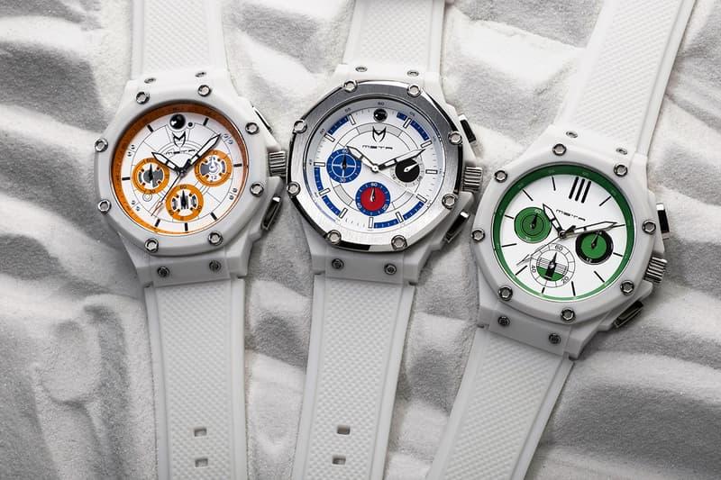 Meister 正式推出《Star Wars》經典角色聯乘錶款